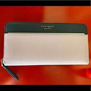 NWT Kate Spade Large Continental Wallet
